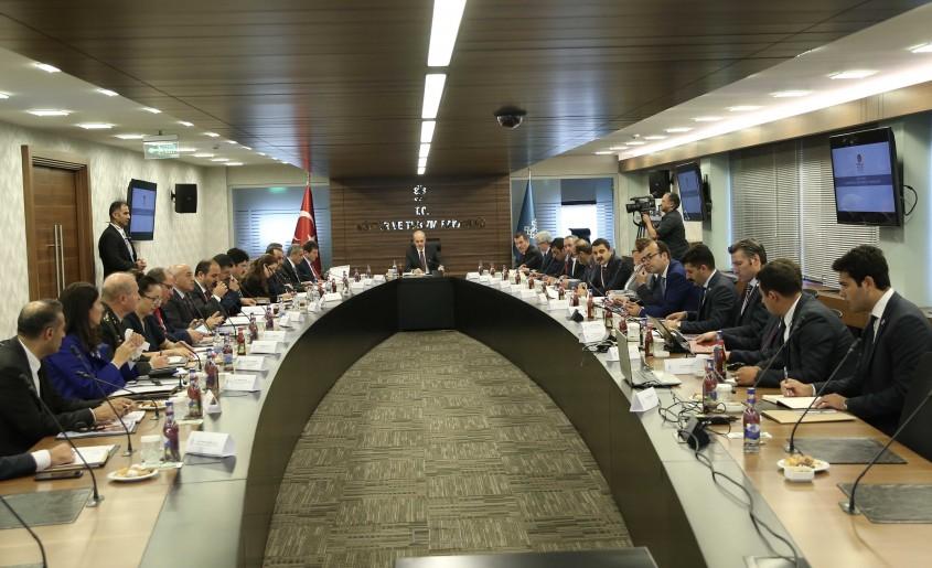 Alan Başkanlığı Koordinasyon Toplantısı Ankara'da Yapıldı