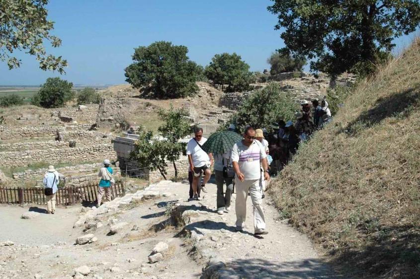 Troia ve Assos Antik Kenti'ni 2017 Yılında Kaç Kişi Ziyaret Etti?