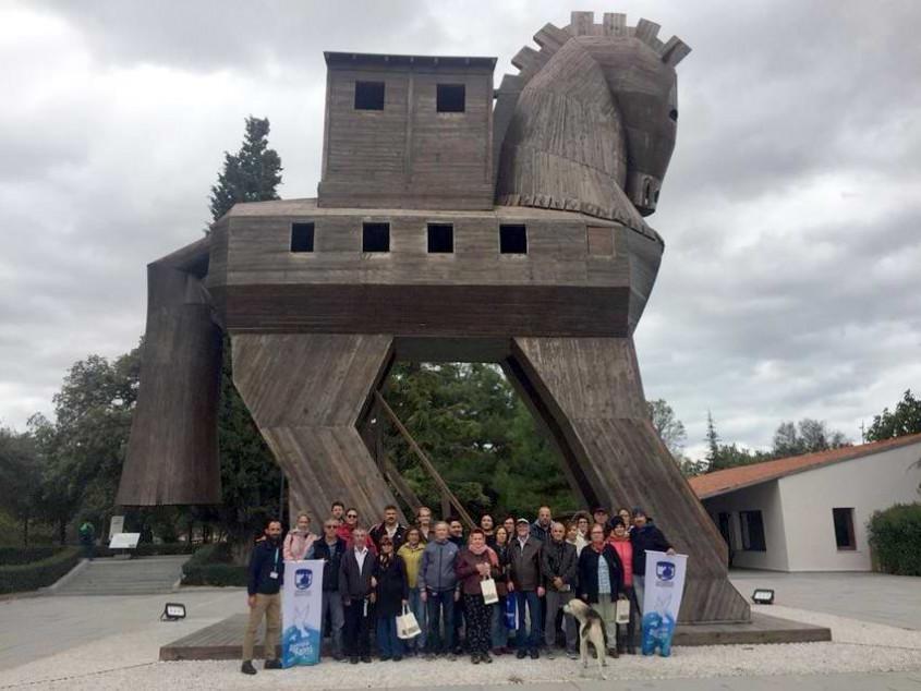 Çanakkale Belediyesi'nden Ücretsiz Troia Gezisi