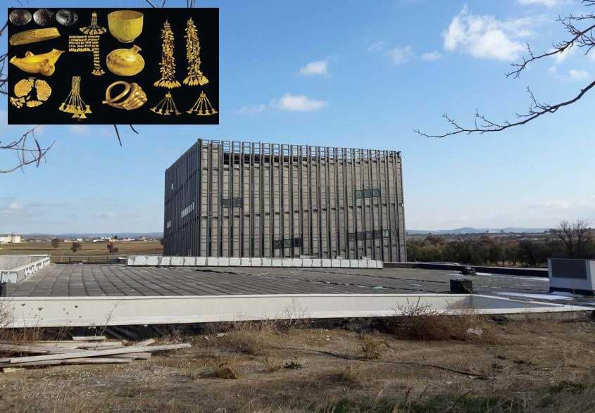 "Troia Hazineleri ""Troia Müzesi""nde Sergilenecek"