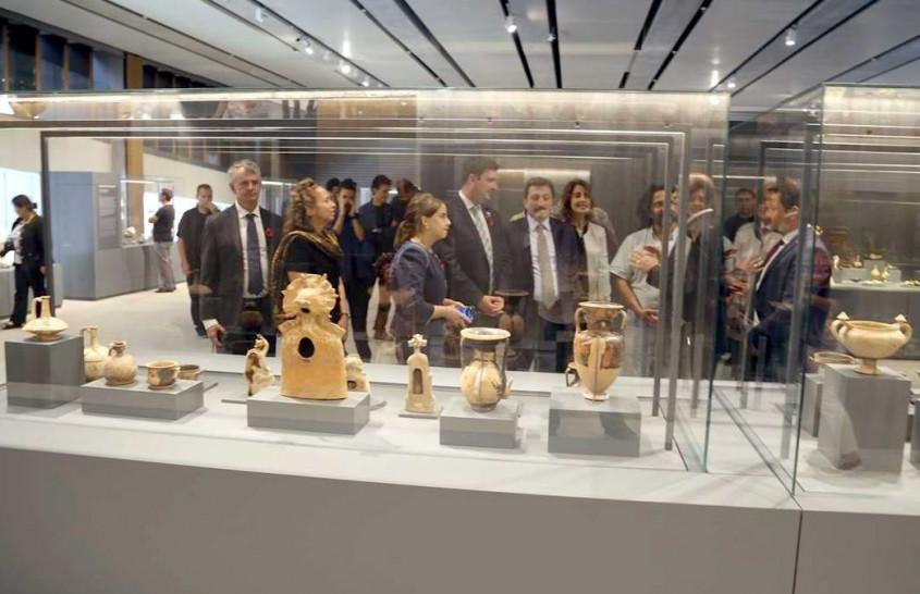 Troya Müzesi'nin İlk Konukları Kanada Heyeti Oldu
