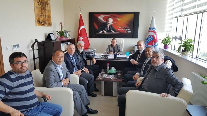 Çatod'dan Çomü Turizm Fakültesi Dekanı Ali Osman Uysal'a Ziyaret