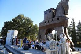 2018 Troya Yılında Troya Destanı Her Dilde Okundu