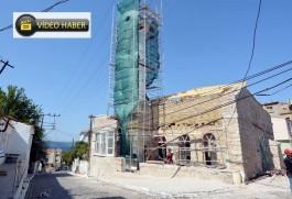 557 Yıllık Tarihi Kilitbahir Köyü Fatih Camii Restore Ediliyor