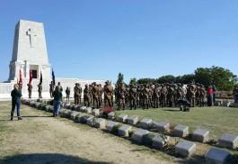 Anzac Süvari Birliklerinin Torunları Çanakkale'de