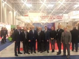 """Romanya Turizm Fuarı'nda Türkiye'nin Yükselen Turizm Markası: """"Çanakkale"""""""