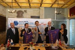 """Ünlü Yüzücüler Çanakkale'de """"Troia Yılı"""" İçin Kulaç Atacak"""